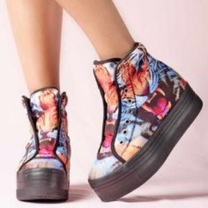 JC Play HIYA Jeffrey Campbell sneakers size 7